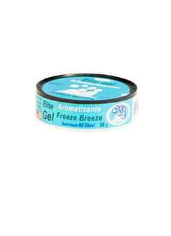 Elite Gel Counter Display. Freeze Breeze