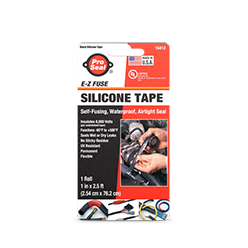 E-Z Fuse Tape, Black 2.5 ft, PROSEAL