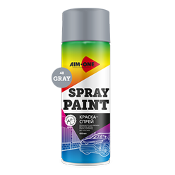 Spray paint gray