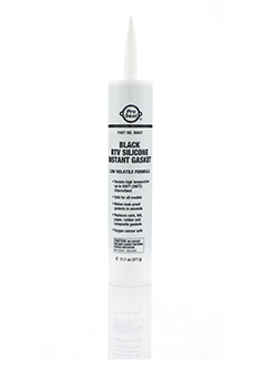 Black RTV Silicone Instant Gasket, 314 g
