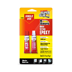 Single Use Quick Setting Epoxy Adhesive